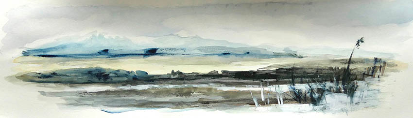 gullkistan aquarelle 60x15cm site